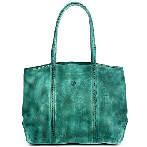old-trend-leather-tote-dancing-bamboo-bag-aqua