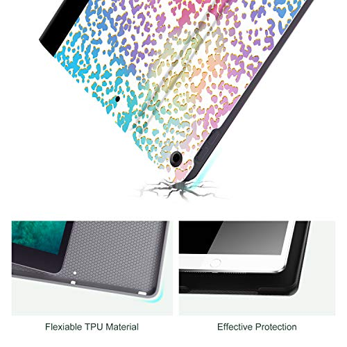 Ipad 10.2 Inch Case for 8th Generation(2020) /7th Generation (2019), Lokigo Pink Composition Book 10.2 Inch Ipad Cover Slim Lightweight Shell Hard Back Cover with Multi-Angle Stand Auto Sleep/Wake