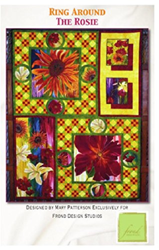 1 Ring Around the Rosie Quilt Kit From Frond Design Studios 54'' x 72'' by Frond Design Studios (Image #2)