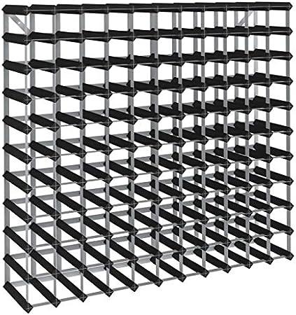 Color: Negro,Material: Madera maciza de pino, acero galvanizado,Dimensiones: 110 x 22,5 x 100,5 cm (