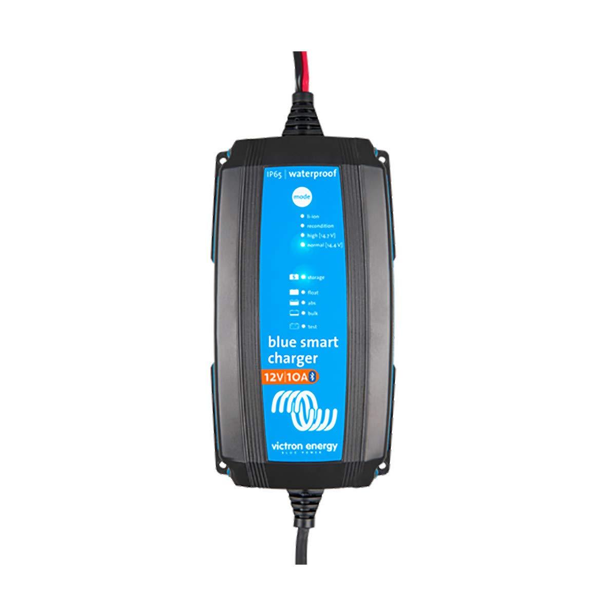 Victron BlueSmart Batterieladeger/ät IP65 12//7 mit integriertem Bluetooth f/ür alle Batterietypen 12V 7A BPC120731064R