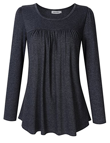 Pleated Blouse Shirt - 1