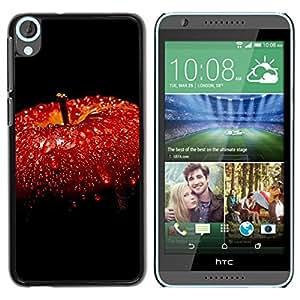 All Phone Most Case / Oferta Especial Duro Teléfono Inteligente PC Cáscara Funda Cubierta de proteccion Caso / Hard Case HTC Desire 820 // Red Apple