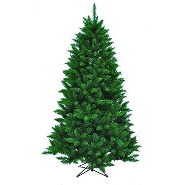 Kurt Adler TR2326 Pine Christmas Tree with 1026 Tips, 50 Inch, Girth and Metal Base