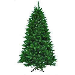 Kurt Adler TR2326 7' Pine Christmas Tree with 1026 Tips,...