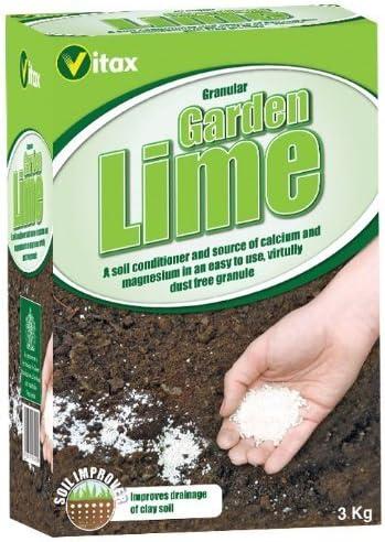 3kg de Cal de Jardín Granulada Vitax: Amazon.es: Jardín