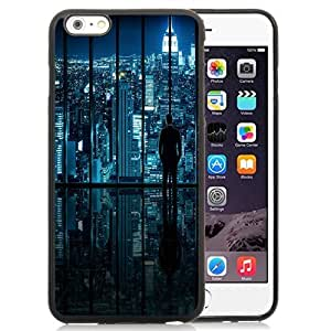 NEW Unique Custom Designed Case For Ipod Touch 4 Cover Phone Case With New York Glass Window View_Black Phone Case