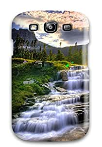Hot Tpu Cover Case For Galaxy/ S3 Case Cover Skin - Gentle Meadow