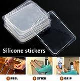 super adhesive - 10Pcs Transparent Silicone Gel Pad Anti Slip Multifunction Non-Slip Wall Sticker Free Adhesive by ShopIdea