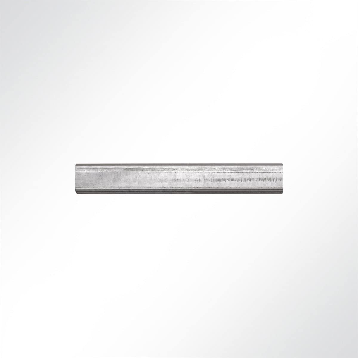 LYSEL/® Laufschiene verzinkt 25x19x2000 mm Schiebetor Schiebet/ür Hallentor