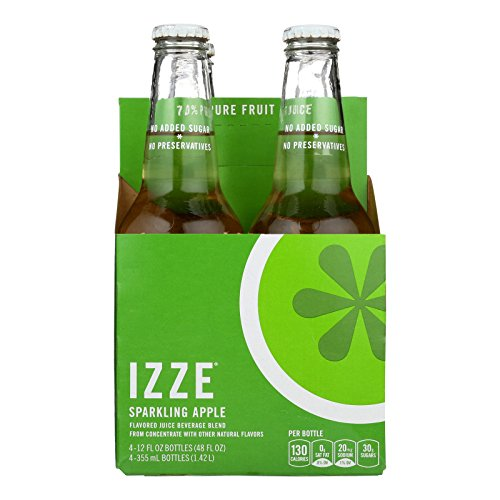 Izze Sparkling Juice - Apple - Case of 6 - 12 Fl oz. by Izze