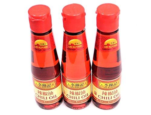 Hot Chili Oil - New! Lee Kum Kee LKK Chili Oil 7 oz | Pack of 3