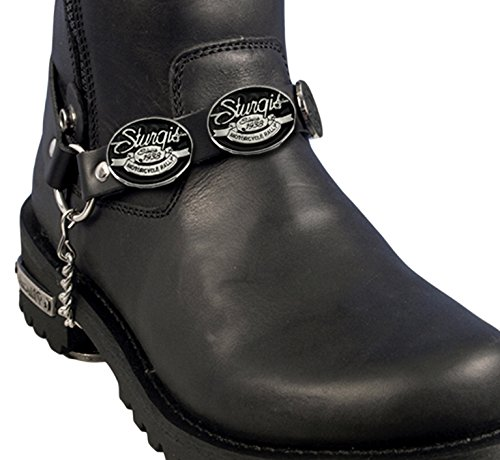 Hot Leathers (SPA1142 BK/S Sturgis Medallion Boot Chain