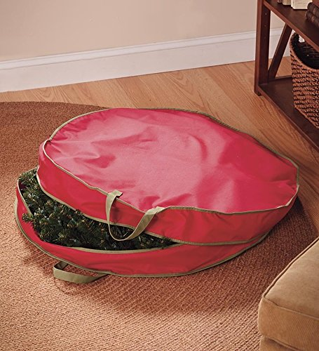 25'' Wreath Storage Bag by Plow & Hearth