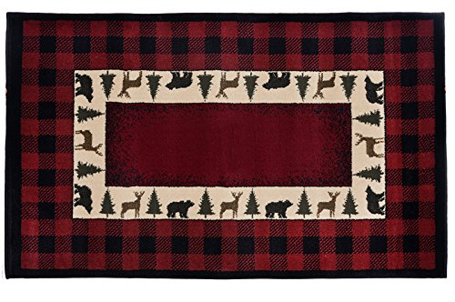 (Goods of the Woods HIGH Country Trophy Hearth Rug)