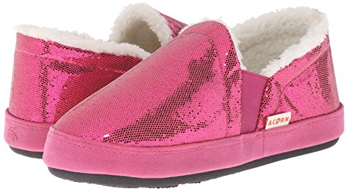Pictures of Acorn Kids Colby Gore Moc Slipper Black 12 none US Girl 4