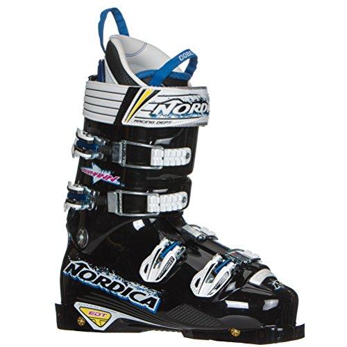 [Nordica Dobermann WC 150 EDT Race Ski Boots - 27.0/Black] (Mens Race Ski Boots)