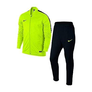 Nike Academy Knt Tracksuit 2 Chándal, Hombre, Amarillo (Volt/Negro ...
