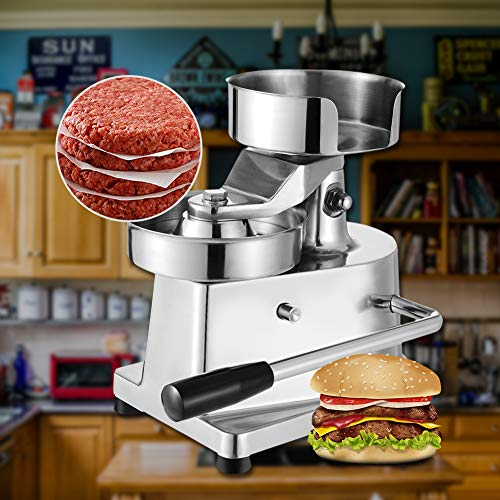 Hamburger Patty Maker,Commercial Hamburger Press Patty Maker Machine Garden BBQ Tools Sandwich Makers Panini Presses for Grilling Meat Seafood Vegetarian Patties by GOLDEN ELEPHANT (Image #6)