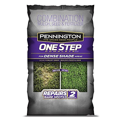 Grow Seed (Pennington One Step Complete for Dense Shade Areas - Bare Spot Repair Grass Seed Mix - 8.3 lb)