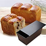 Nonstick Loaf Pan, Toast Bread Mold with Lid Metal Bread Loaf Tins for Cake and Toast Making