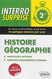 Interro Surprise Histoire Géographie Seconde