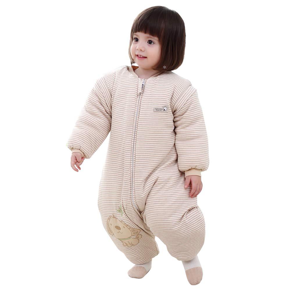 Baby Sleeping Bag Zipper Swaddle for Toddler Winter Kid Sleepsuit Sleepsack Warmer Sleep Rompers