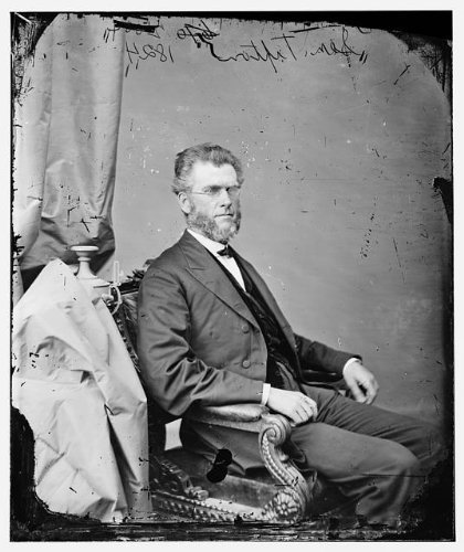 Nebraska Portrait Picture Frame (Photo: Honorable Thomas Weston Tipton,Nebraska,NE,politicians,portrait photographs,1860)