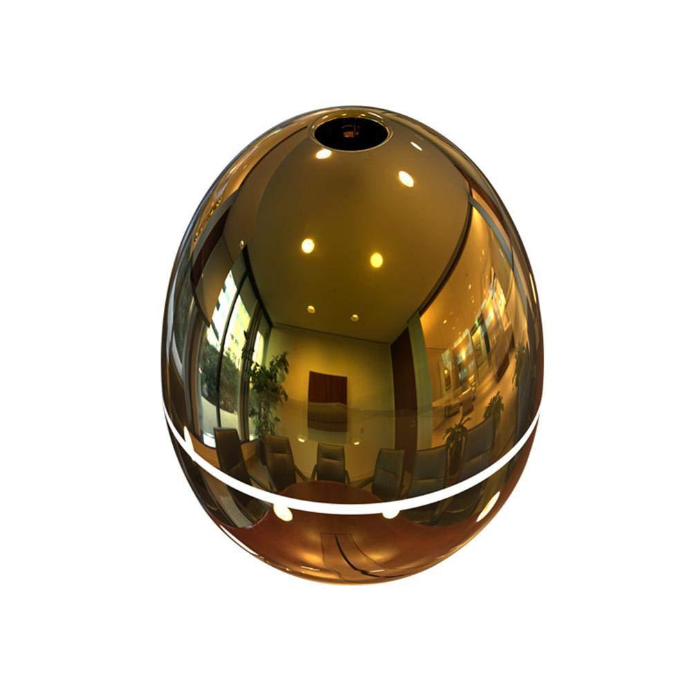 Juman634 Mini Luftreiniger-Timing Anti-Trocknung Abschaltschutz Goldenes Ei Luftbefeuchter 100 ml Ultraschall USB Desktop Beauty Zerst/äuber Gold