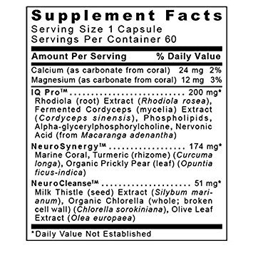 CereVen by Premier Research Labs (4 Bottles / 240 Vcaps) Brain / Mental Support