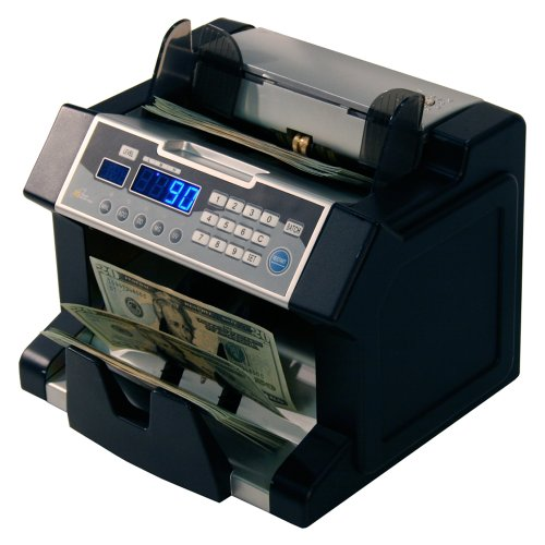 Royal Sovereign Money Counting Machine, High Speed Bill Counter, UV, MG, IR Counterfeit Bill Detector, Front Load (RBC-3100) by Royal Sovereign