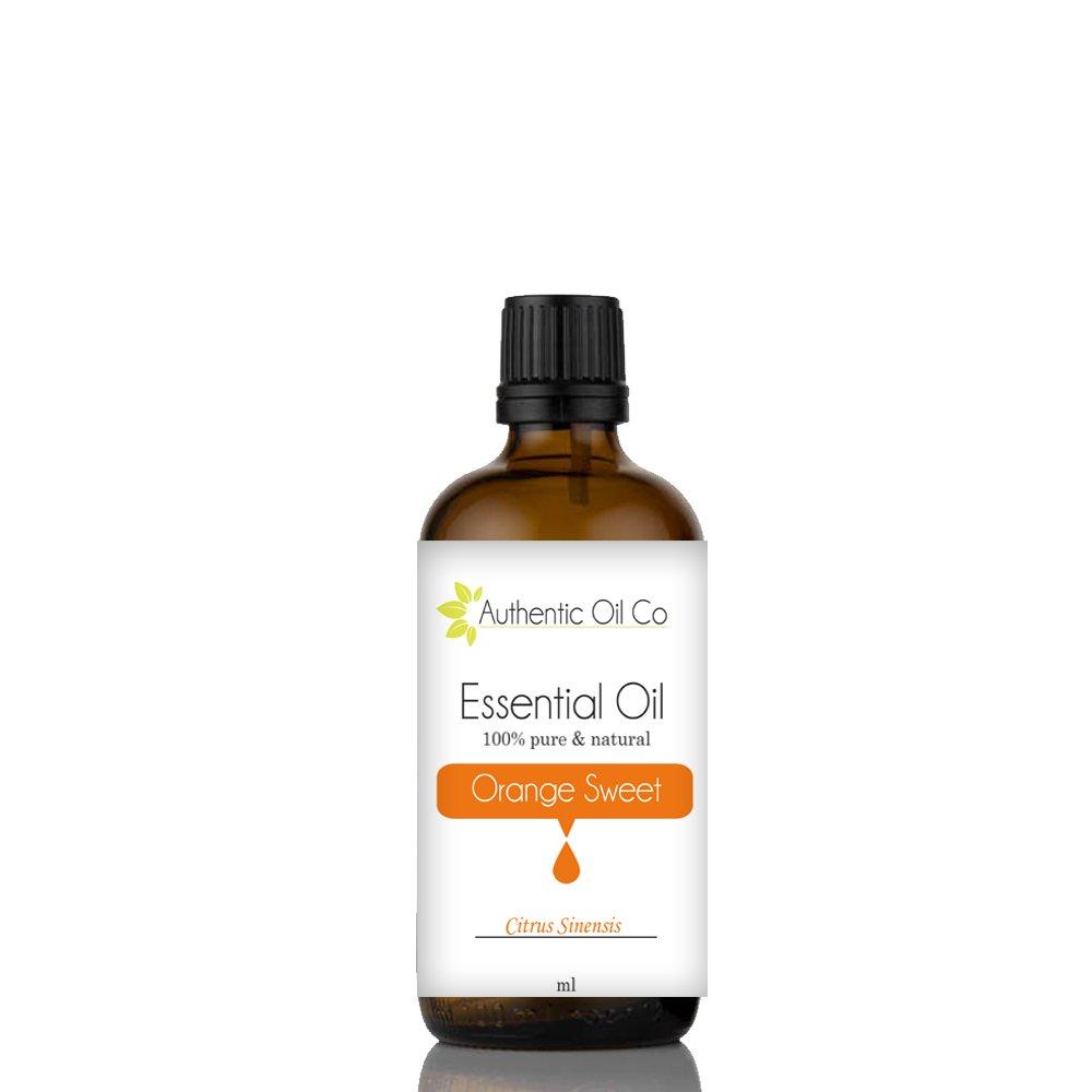 100ml olio essenziale di arancia dolce Authentic Oil Co