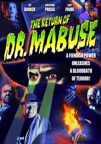 DVD : Return Of Doctor Mabuse (Black & White)