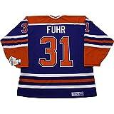 Grant Fuhr Edmonton Oilers CCM vintage jersey