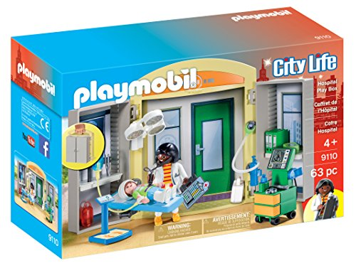 Picture of a PLAYMOBIL Hospital Play Box 4008789091109