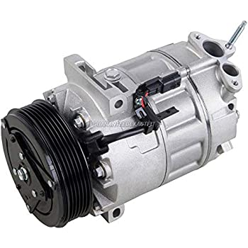 AC Compressor & A/C Clutch For Nissan Sentra 2007 2008 2009 2010 2011 2012 - BuyAutoParts 60-02035NA NEW