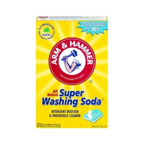 Church & Dwight Co 03020 Arm & Hammer Super Washing Soda 55 oz.-Pack of 6