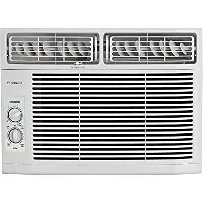 Frigidaire FFRA1011R1 10,000 BTU 115V Window-Mounted Mini-Compact Air Conditioner with Mechanical Controls