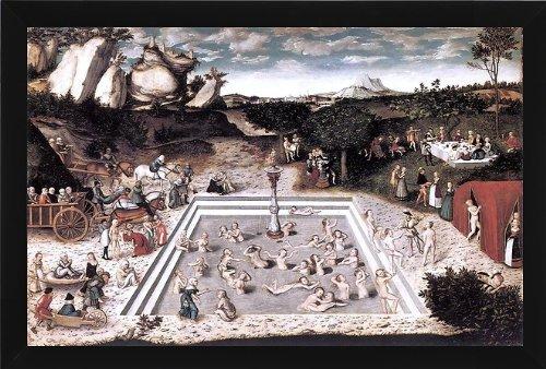 Cranach Fountain (The Elder Lucas Cranach The Fountain of Youth - 18.1