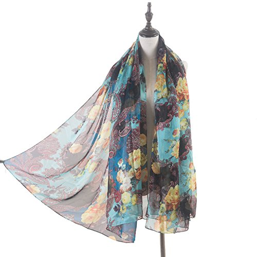 Beautiful Floral Scarf - 5