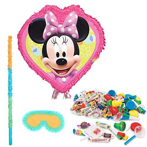 BirthdayExpress Disney Minnie Mouse Party Supplies - Pinata Kit -
