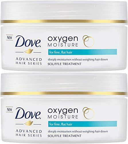 Dove Advanced Hair Series Oxygen Moisture Souffle Treatment, 4.8 Ounce (Pack of 2)
