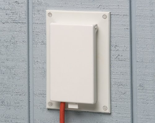 Arlington DBVR171-1 Outdoor Electrical-Box Adapter Plate for ...