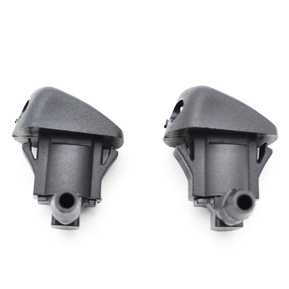 XUKEY 2Pcs Front Windscreen Washer Jet Nozzle For 3 MK1 5 MK2 02-08 06-10 6 MK1 03-09 2006 2007 2008