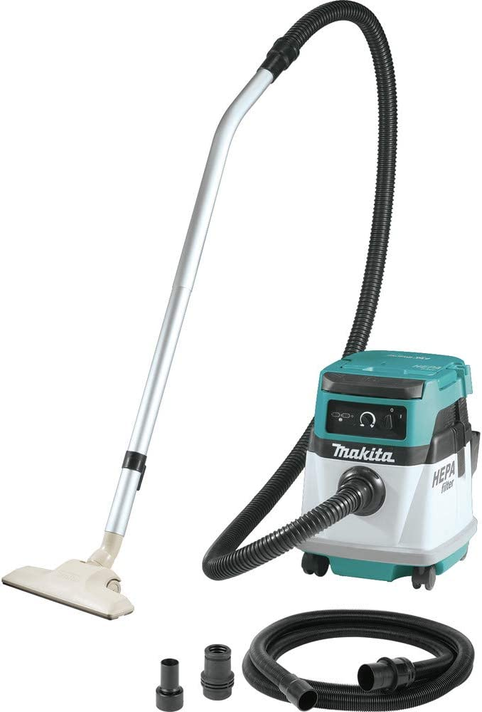 Makita XCV13Z 18V X2 LXT Lithium-Ion (36V) Cordless/Corded 4 Gallon HEPA Filter Dry Dust Extractor/Vacuum, Tool Only