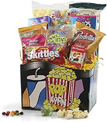 Amazon Com Movie Night Gift Basket Grocery Gourmet Food