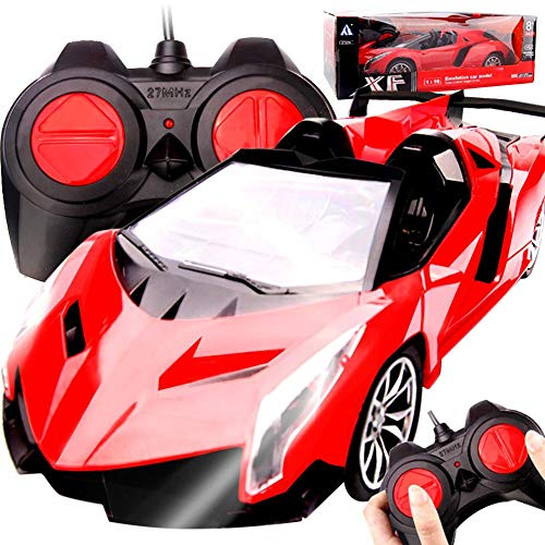 Retro Forward Controls - 1/16 Scale Radio Remote Control Model Car,Model applies to Rambo | Wasp | Veyron | Bugatti | Retro Super Run | Ferrari
