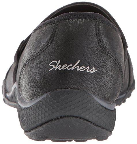 Mujer black Skechers Para Negro 23209 Merceditas qxfy71wCt