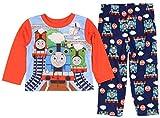 Thomas & Friends Toddler Boys 2 Piece Long Sleeve Top & Fleece Pants Pajama