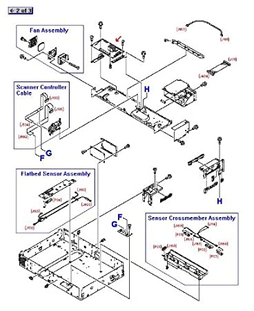Amazon Com Hp 9000mfp9040mfp9050mfp Scanner Control Board C8523